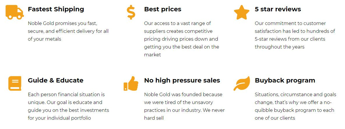 Noble Gold Review Choose Noble Gold Investments