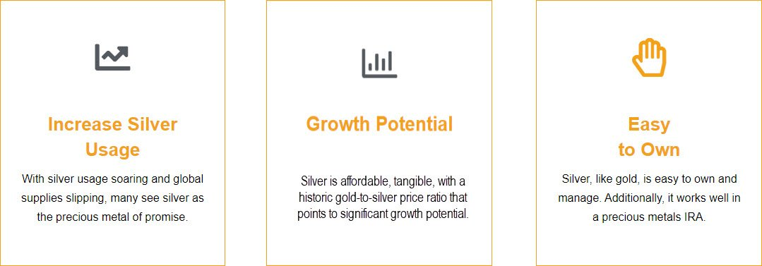Noble Gold Review Reasons to Invest in Silver